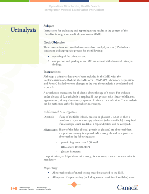 photo regarding Printable United States Citizenship Test identified as Printable uscis clinical examination urine - Edit, Fill Out