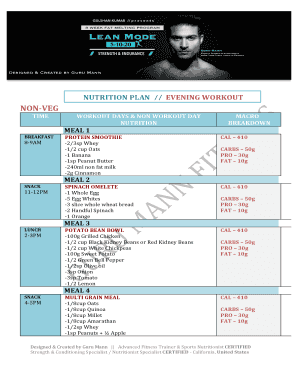 Guru Mann Fitness Details | Diet | Workout
