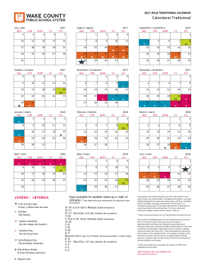 calendar 2018 Forms and Templates   Fillable & Printable Samples
