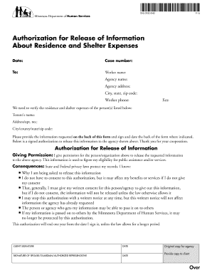 Fillable Online DHS-2952-ENG(Version 9-14) Authorization for