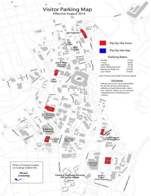 Fillable Online parking uga Visitor Parking Map - UGA Parking ...