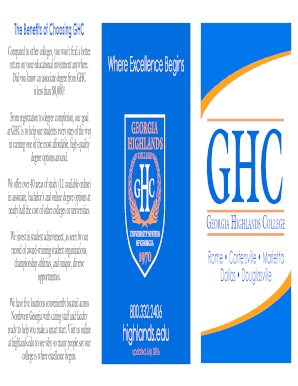 Fillable Online The Benefits of Choosing GHC Fax Email Print