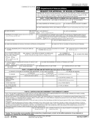 Fillable Online reginfo VA Form 21-674c. Request for Approval of ...