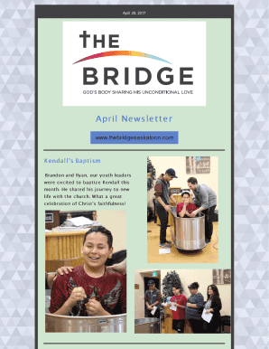 Current Newsletter - The Bridge Saskatoon
