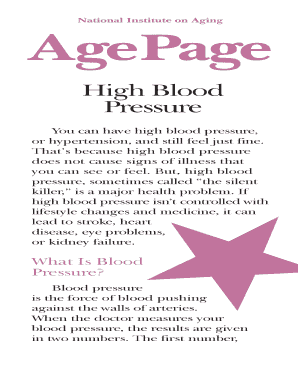 AgePage: High Blood Pressure