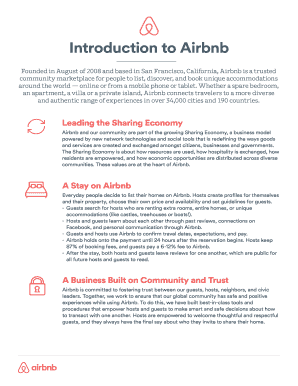 Printable airbnb welcome letter sample   Fill Out & Download Top