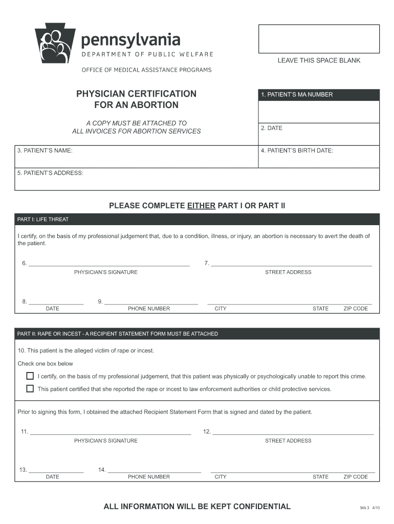 certification pa physician adoption form forms legal