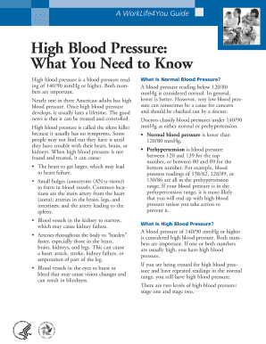 High Blood Pressure: What You Need to Know - wfm noaa