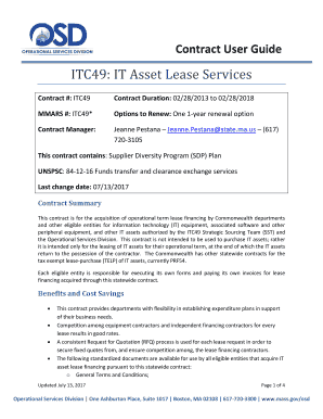 ITC49: IT Asset Lease Services