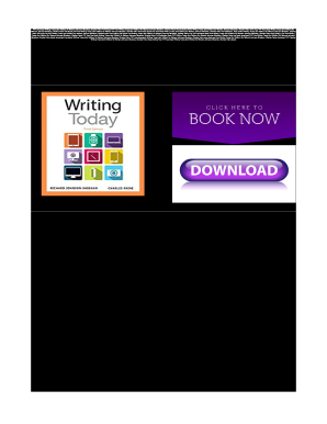 writing today 3rd edition pdf free download Writing Today Johnson Sheehan Pdf - Fill Online, Printable, Fillable ...
