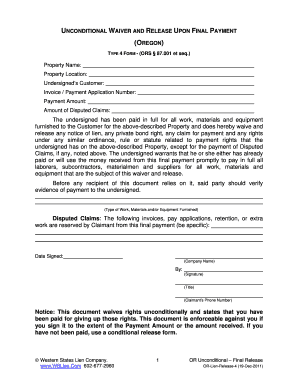 Fillable Online TYPE 4 FORM - (ORS 87 Fax Email Print