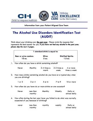 drug use disorders identification test pdf