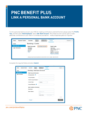 pnc personal banking - Edit & Fill Out, Download Printable