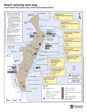 Island Beach State Park Map