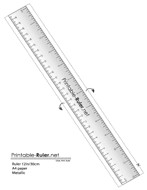 photo regarding Online Printable Ruler known as Fillable On the web ruler-12within just-30cm-A4-steel Fax E-mail Print