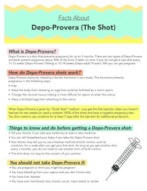 depo provera reviews - Edit Online, Fill Out & Download Forms in