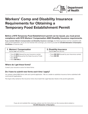 nys workers compensation exemption form Templates - Fillable ...