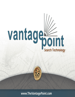 What is VantagePoint