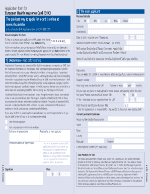 Renew Ehic Card Uk >> Fillable Online S1 E121 Ehic Renewal Application Form Gov