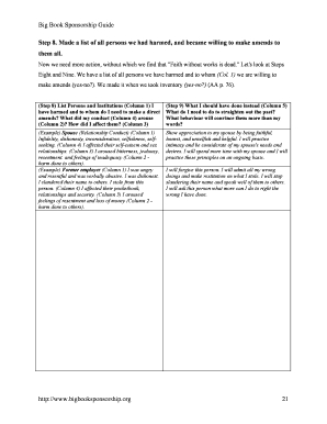 Step 8 And 9 Worksheets Fill Online Printable Fillable Blank Pdffiller