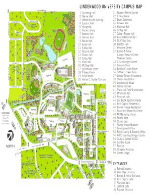 lindenwood university campus map Lindenwood University Campus Map Fill Online Printable lindenwood university campus map