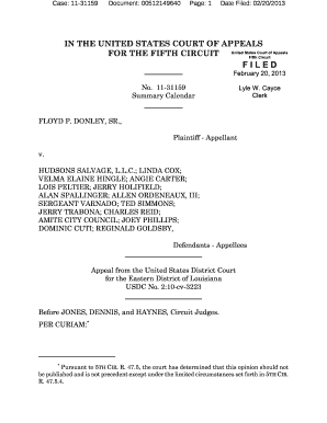 Case: 11-31159 - ca5 uscourts