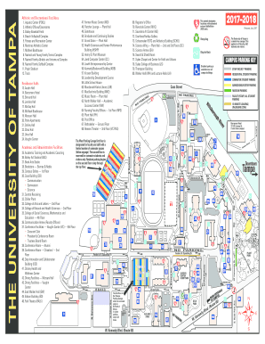 University Of Tampa Map Fillable Online Campus Map   The University of Tampa Fax Email