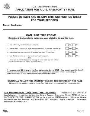 us passport application online pdf