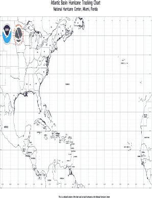graphic regarding Hurricane Tracking Maps Printable identify Fillable On the internet Atlantic Basin Hurricane Monitoring Chart Fax