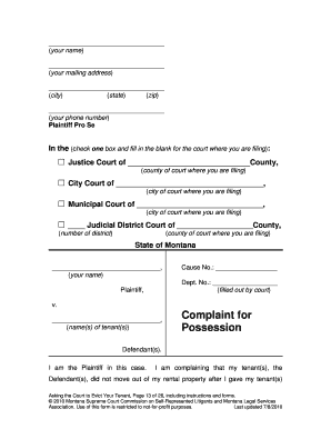 Download Montana Rental Lease Agreement Forms ...   WikiDownload