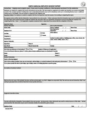 Employee Statement Form - Fill Online, Printable, Fillable, Blank ...