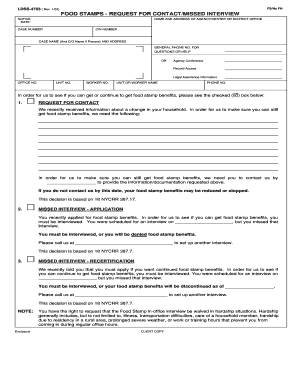 fill out food stamp application online