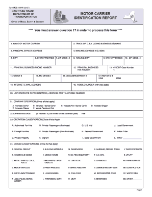 Mcs 150 Form Templates - Fillable & Printable Samples for PDF ...