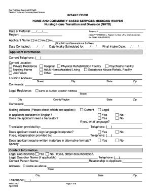 Nurse Intake Form - Fill Online, Printable, Fillable, Blank ...