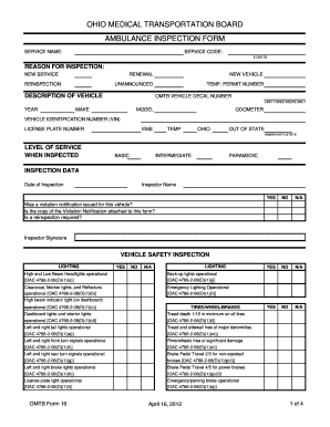 pdf ambulance truck check form inventory sign out sheet template