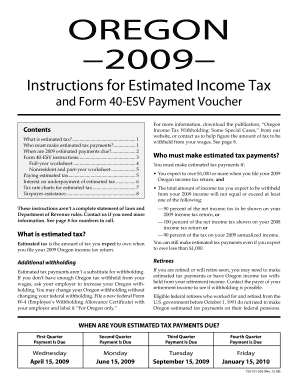 2004 State Of Oregon Form 40 Instructions - Fill Online, Printable ...