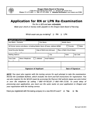 How To Get Re Examination Form Lpn California - Fill Online ...