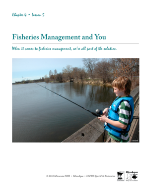 Fisheries Management and You - Minnesota Department of Natural  - files dnr state mn