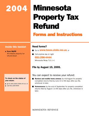 Minnesota Department Of Revenue Fillable Form M1pr - Fill Online ...