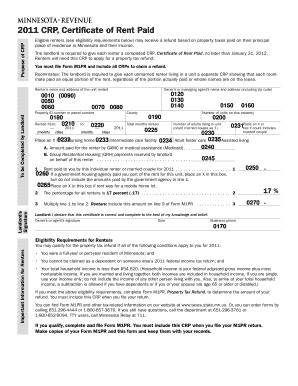 Crp Online Form - Fill Online, Printable, Fillable, Blank | PDFfiller