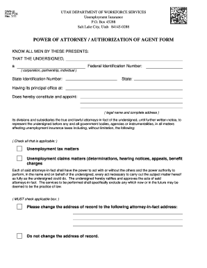power of attorney form utah  Fillable Online jobs utah poa form utah Fax Email Print ...
