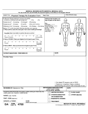 1978 Form DA 4700 Fill Online, Printable, Fillable, Blank - PDFfiller