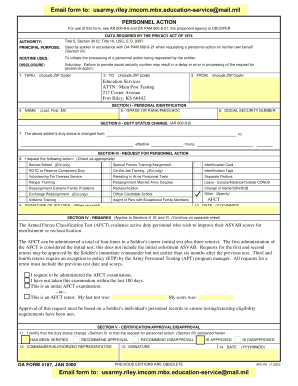 11424136 Da Form Macp Example on compassionate reassignment, for aviation badge, driver's badge, for combat action badge, deletion orders, change mos, separate rations,