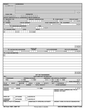 Form 1801 - Fill Online, Printable, Fillable, Blank | PDFfiller