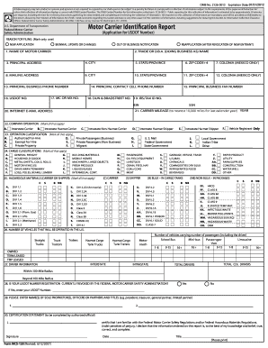 nys motor carrier identification report online form