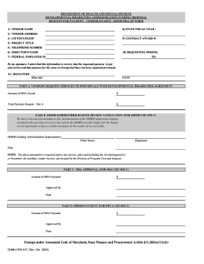 dhmh 437 form