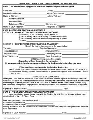 Us District Court Central District Of California Fillable Notice ...