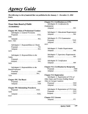 Fillable Online 501 90 - Texas Administrative Code - Texas