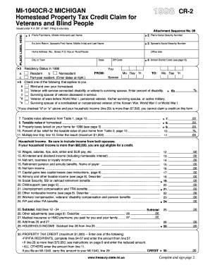 Property Tax Forms Michigan - Fill Online, Printable, Fillable ...