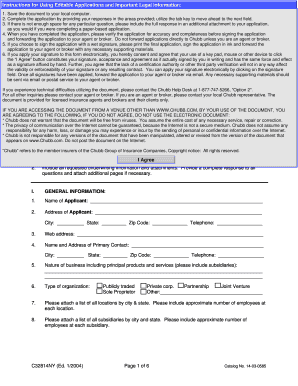 C32814NY. EP Portfolio (Employment Practices Liability) - NY application